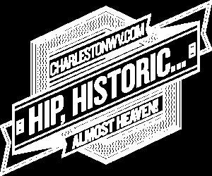 Hip Badge w Website - White
